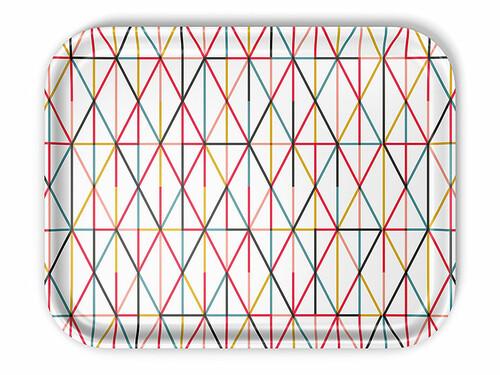 Tablett Classic Tray 46 x 36 cm (large) | grid