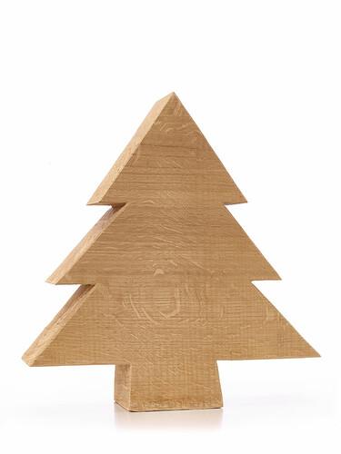Weihnachtsdekoration Tanne Größe XL (H 28 x B 24 cm) | Eiche