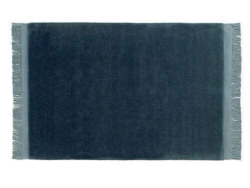 Teppich Raw 170 x 240 cm | dunkelblau