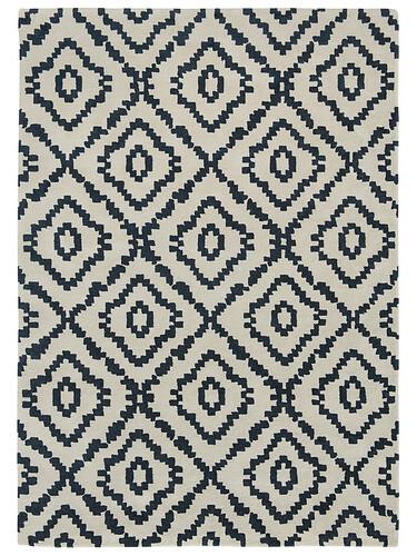 Teppich Sami B 170 x L 240 cm | kohle/creme