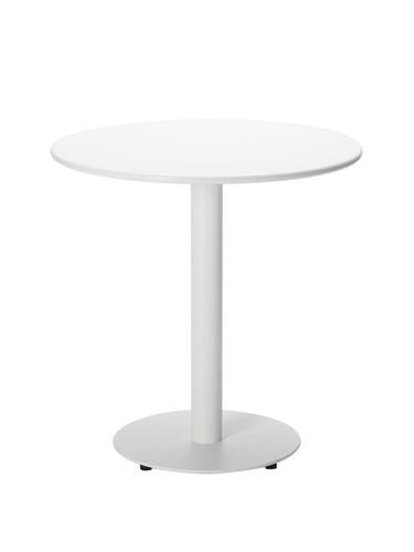 Tisch Casablanca rund | weiß