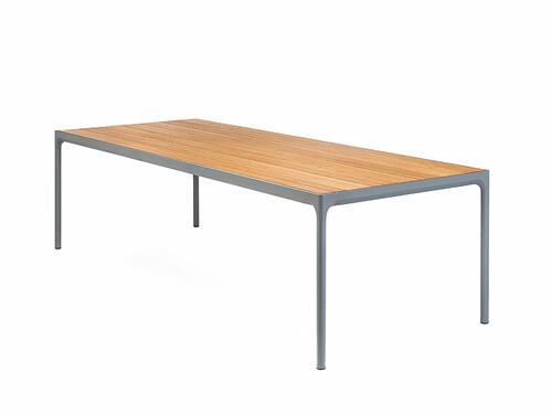 Tisch Four B 210 cm | Gestell: dunkelgrau
