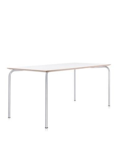 Tisch Maui 160 cm | zinkweiß