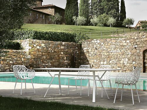 Tisch Radice Quadra 150 x 90 cm | weiß