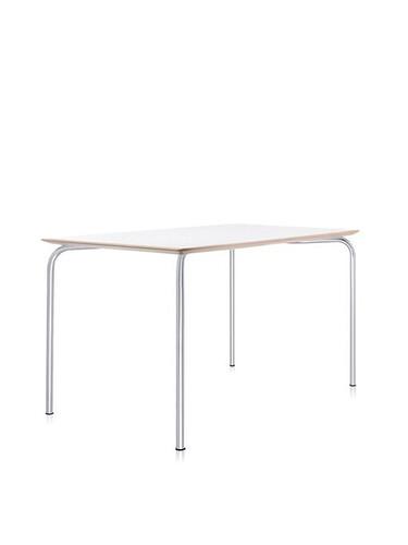 Tisch Maui 120 cm | zinkweiß
