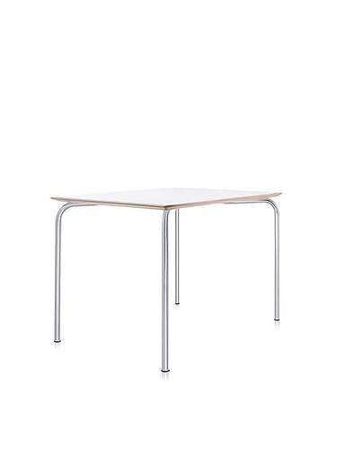 Tisch Maui 80 cm | zinkweiß