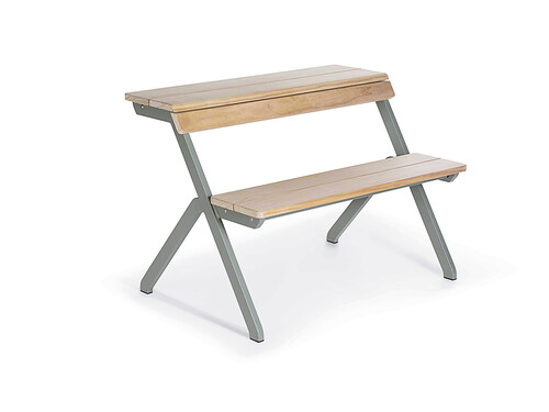 Tischbank Tablebench 2-Sitzer | Accoya Holz