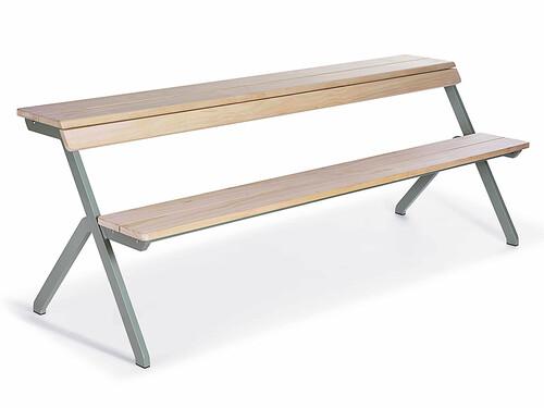 Tischbank Tablebench 4-Sitzer   Lärchen Holz
