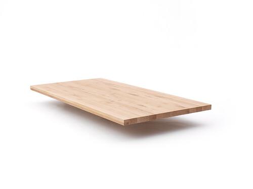 Tischplatte Fred 160 x 80 cm | Wildeiche