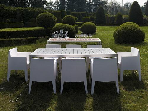 Tisch Thali 90 cm   Aluminium