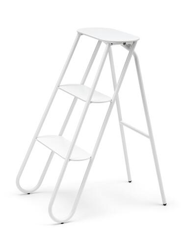 Tritthocker Bukto 3 Stufen   weiß