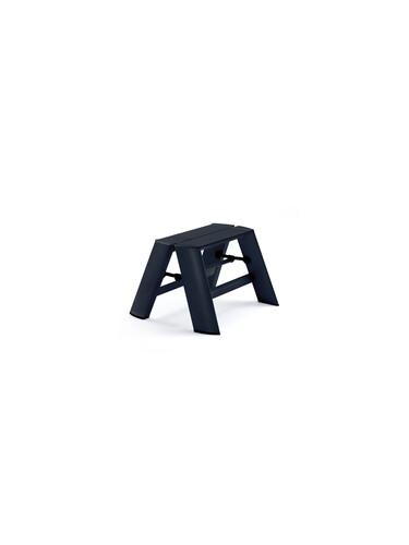 Tritthocker Lucano Tritthocker - 2 Stufen   Aluminium, schwarz