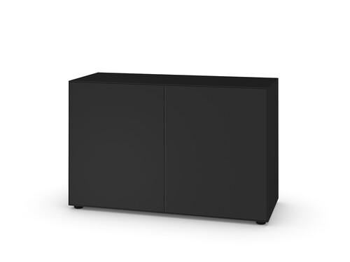 Schubkasten- oder Türbox Nex Pur Box Tür-Box mit 2 Türen | schwarz