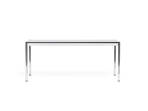 USM Schreibtisch 175 x 75 cm | perlgrau