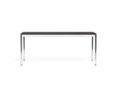 USM Schreibtisch 175 x 75 cm | Eiche schwarz furniert