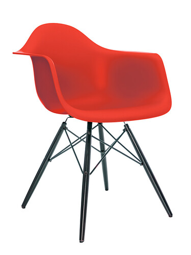 Eames Plastic Arm Chair DAW