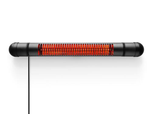 Wand-Terrassenheizgerät HeatUp Wall Wandversion | schwarz