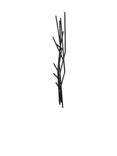 Wandgarderobe Latva Wandgarderobe   schwarz