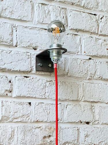 LED-Wandleuchte Bulb