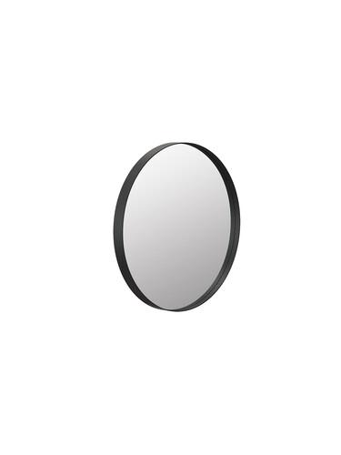 Wandspiegel Unu rund, Ø 40 cm | schwarz