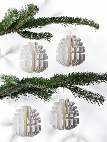 Weihnachtsanhänger Cone
