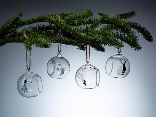 Weihnachtsanhänger Winterkugeln