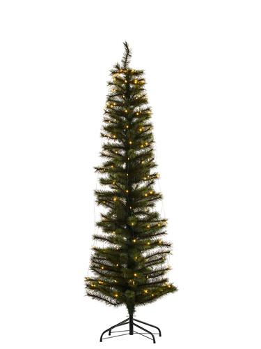 Weihnachtsbaum mit Fuß Alvin Tree H 180 cm mit 234 Lichtern | grün