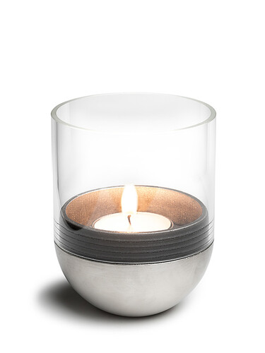 Windlicht Gravity Candle H 10 cm | Glas