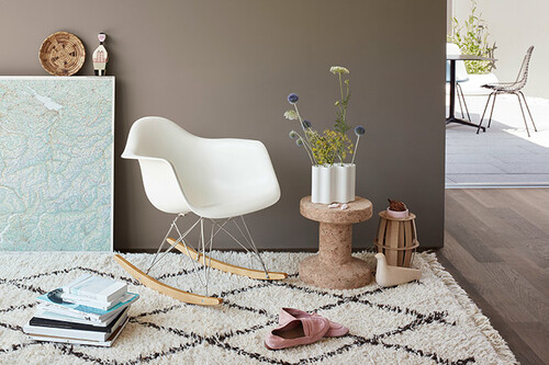 Eames Plastic Armchair : Eames plastic armchair rar schaukelstuhl vitra cairo