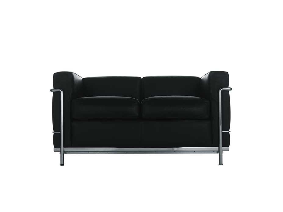 Cassina Lc2 Sofa 2 Sitzer Von Le Corbusier Cairode