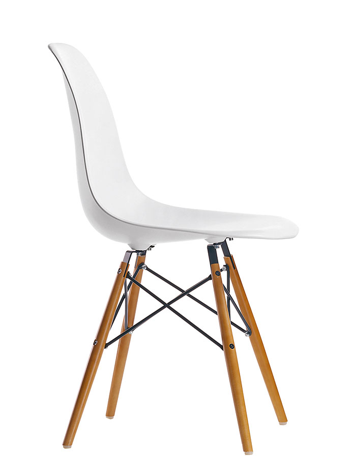 Vitra Eames Plastic Side Chair DSW – chaise Vitra | cairo.fr