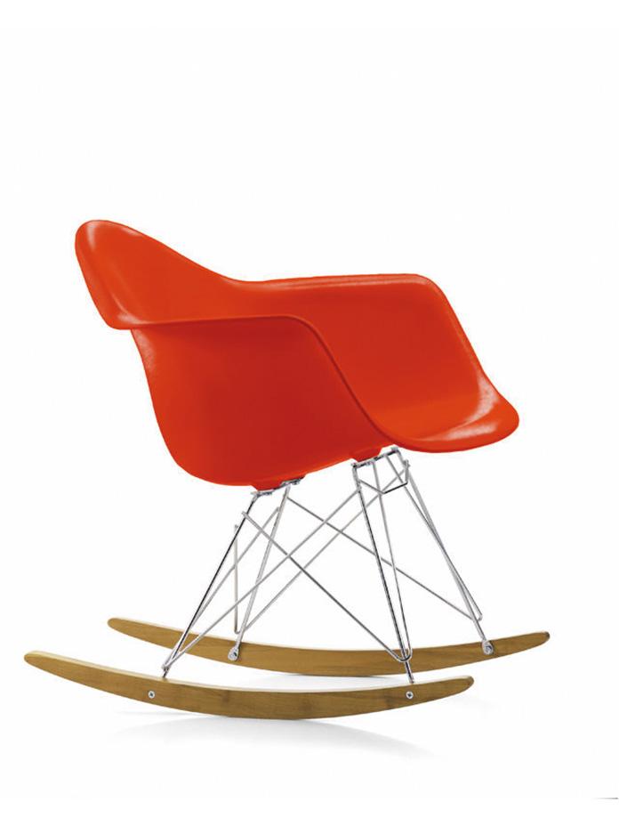 Eames Plastic Armchair Rar Schaukelstuhl Vitra Cairode